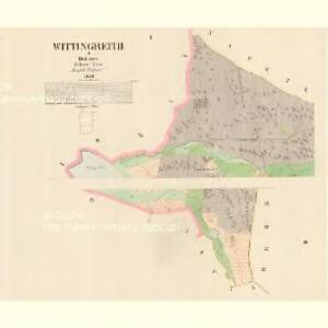 Wittingreith - c8633-2-001 - Kaiserpflichtexemplar der Landkarten des stabilen Katasters