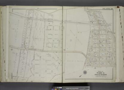 Part of Ward 4. [Map bound by Amboy Road, Cedarview   Ave, Oak Ave, South Side Boulevard, 9th St, 14th St, Baldwin Ave (Jefferson      Ave), Cole CT, Cole Place, Bay Terrace]