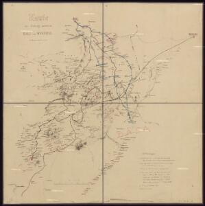 Karte des Gebiets zwischen Bali und Nyasoso, zum Reisebericht Br. Dorsch's