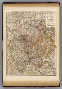 Rhenish Prussia, Westphalia, Hesse-Nassau, Waldeck, Lippe, Hesse.