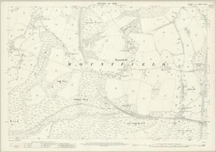 Sussex XLIII.7 (includes: Mountfield) - 25 Inch Map