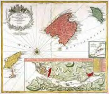 Carte des isles de Maiorque Minorque et d'Yvice