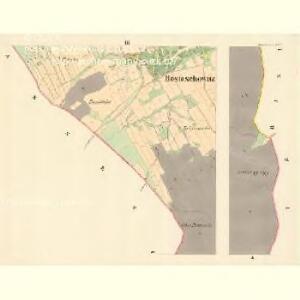 Hostaschowitz - m0849-1-003 - Kaiserpflichtexemplar der Landkarten des stabilen Katasters