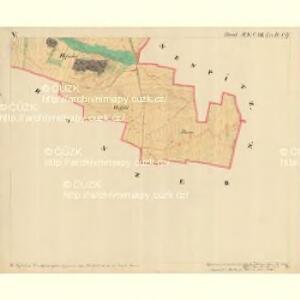 Doeschen - m0425-1-006 - Kaiserpflichtexemplar der Landkarten des stabilen Katasters