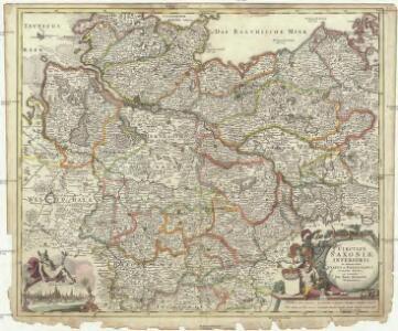 Circulus Saxoniae inferioris in omnes suos status et principatus accurate divisus