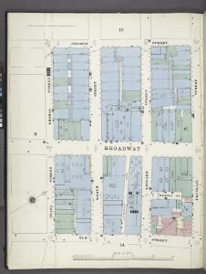 Manhattan, V. 1, Plate No. 15 south half [Map bounded by Church St., Franklin St., Elm St., Pearl St., Thomas St.]