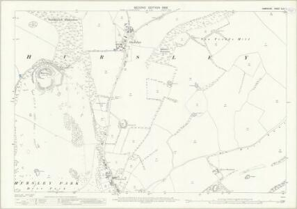 Hampshire and Isle of Wight XLIX.7 (includes: Hursley) - 25 Inch Map