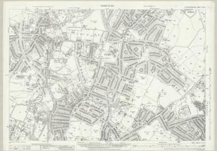 Gloucestershire LXXI.8 (includes: Bristol) - 25 Inch Map