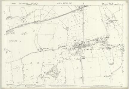 Essex (1st Ed/Rev 1862-96) XLI.6 (includes: Harlow; Netteswell; Sawbridgeworth) - 25 Inch Map