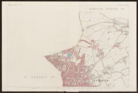 Devon CXXIII.8 (includes: Devonport; East Stonehouse; Plymouth) - 25 Inch Map