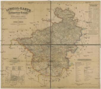 Special-Karte des Leitmeritzer Kreises