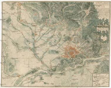 Neu topograph. Karte von der Ümliegend-Gegend von Wien