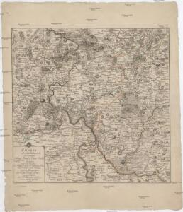 Charte über den Rückmarsch der vereinigten Königl. Preusl. u. Churf: Saechsl. Arméen