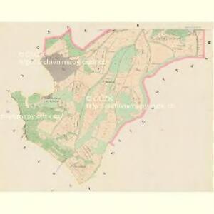 Hochwartl (Straz) - c7395-1-002 - Kaiserpflichtexemplar der Landkarten des stabilen Katasters