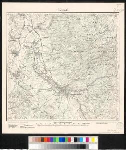 Meßtischblatt 2376 : Osterode, 1878