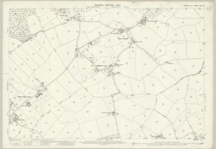 Suffolk LXXIII.16 (includes: Groton; Hadleigh; Kersey; Polstead) - 25 Inch Map
