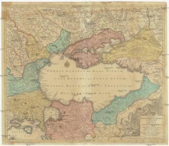 Nova et accurata Tartariae Europaeae seu minoris et in specie Crimae delineatio geographica
