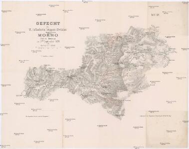 Gefecht der VI. Infanterie-Truppen-Division bei Mokro (Han na Romanja) am 3ten September 1878