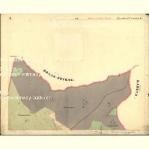 Passeken - c5642-1-002 - Kaiserpflichtexemplar der Landkarten des stabilen Katasters