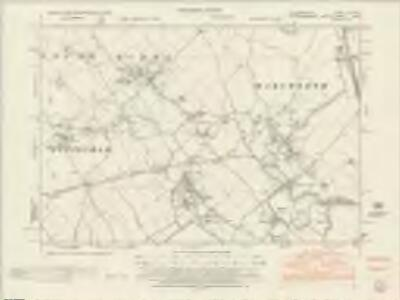 Hertfordshire XXV.NW - OS Six-Inch Map