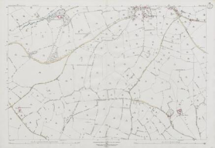 Somerset XXI.14 (includes: Hemington; Lullington; Norton St Philip; Wellow) - 25 Inch Map