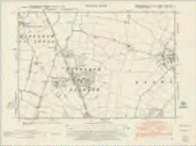 Cambridgeshire XXXVIII.NE - OS Six-Inch Map