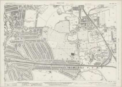 Kent III.13 (includes: Crayford; Erith) - 25 Inch Map
