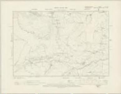 Merionethshire VI.NW - OS Six-Inch Map