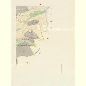 Mnierzenitz (Mněřenitz) - c4708-1-003 - Kaiserpflichtexemplar der Landkarten des stabilen Katasters