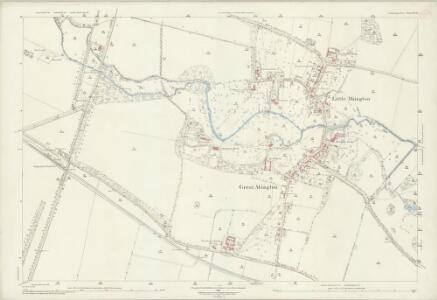 Cambridgeshire LV.9 (includes: Great Abington; Hildersham; Little Abington; Pampisford) - 25 Inch Map