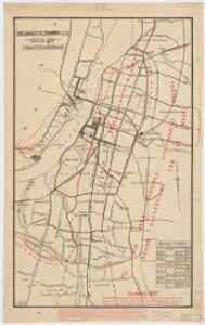 Route map : Calcutta & Howrah