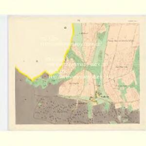 Alt und Neu-Klitschau - c3160-1-005 - Kaiserpflichtexemplar der Landkarten des stabilen Katasters