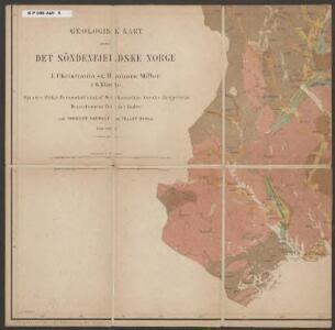 Geologisk kart over det Söndenfjeldske Norge