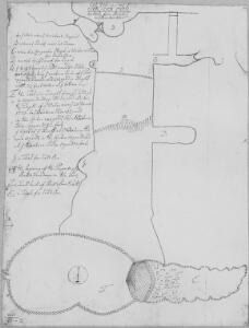 A plan of the great cavern called Pen Park Hole, in the parish of Westbury