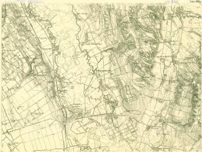III. vojenské mapování 4760/2