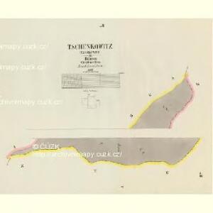 Tschenkowitz (Czenkowice) - c0848-1-004 - Kaiserpflichtexemplar der Landkarten des stabilen Katasters