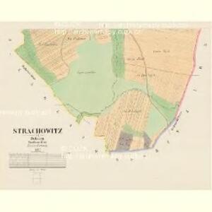 Strachowitz - c7374-1-002 - Kaiserpflichtexemplar der Landkarten des stabilen Katasters