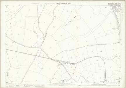 Worcestershire LIII.8 (includes: Berrow; Birtsmorton; Bromsberrow; Eastnor; Pendock; Redmarley Dabitot) - 25 Inch Map