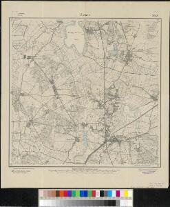 Meßtischblatt 2043 : Zossen, 1919