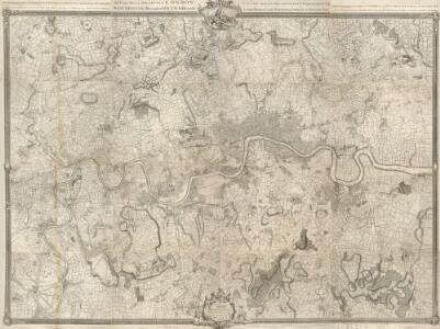 An Exact Survey of the Citys of London, Westminster, ye Borough of Southwark, and the Country near Ten Miles round