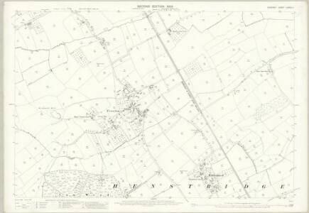 Somerset LXXXIV.4 (includes: Abbas Combe; Henstridge) - 25 Inch Map
