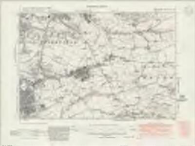Lancashire LVI.SE - OS Six-Inch Map