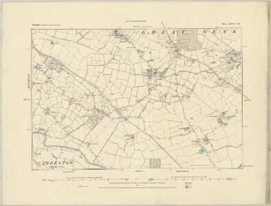 Shropshire XXIV.SW - OS Six-Inch Map