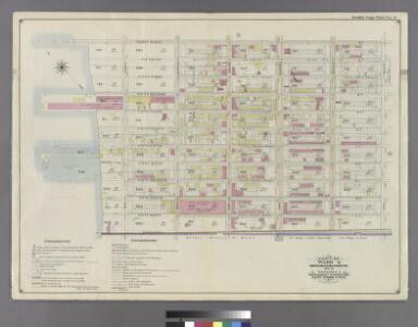 Part of Ward 8. Land Map Section, No. 3, Volume 1, Brooklyn Borough, New York City.
