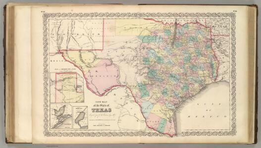 New Map of the State of Texas