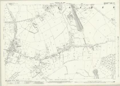 Hertfordshire XLV.5 (includes: Aldenham; Elstree; Harrow; Hendon) - 25 Inch Map