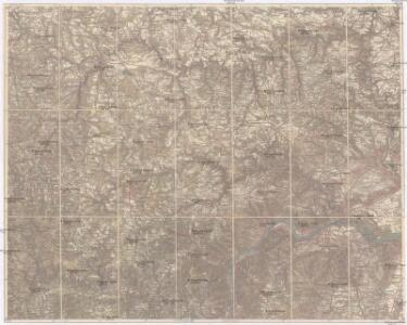 Umgebungskarte von Krems und Zwettl