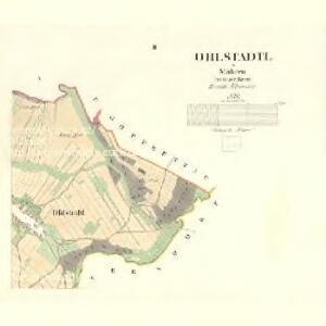 Ohlstadtl - m2122-1-002 - Kaiserpflichtexemplar der Landkarten des stabilen Katasters