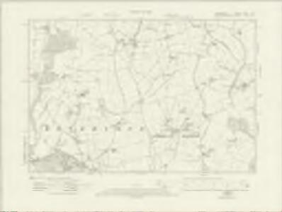 Derbyshire XLVII.SE - OS Six-Inch Map