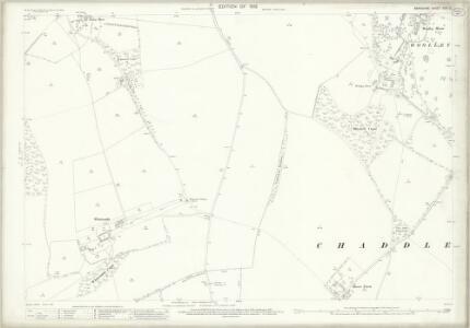 Berkshire XXVI.2 (includes: Chaddleworth; Fawley; West Shefford) - 25 Inch Map